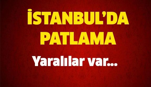 Son dakika İstanbul'da patlama meydana geldi!