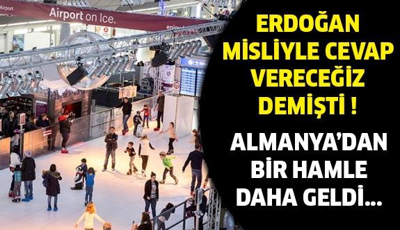 Alman polisinden Türk kafilesine küstah muamele