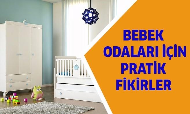 Bebek odası için pratik fikirler