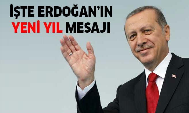 Cumhurbaşkanı Recep Tayyip Erdoğan'dan yeni yıl mesajı!