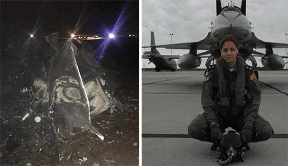 Diyarbakır'da F-16 savaş uçağı düştü!