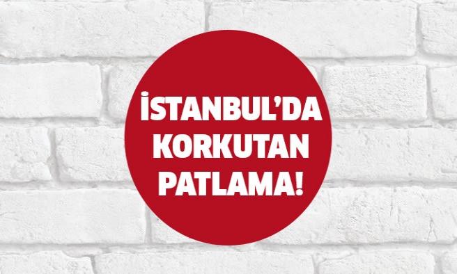 İstanbul'da bir evde patlama! Olay yerine ekipler gönderildi