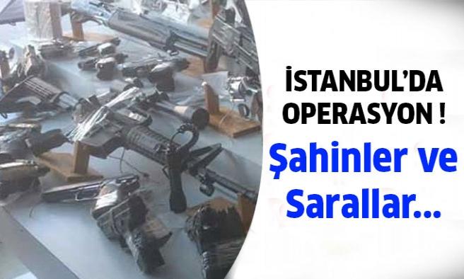 İstanbul'da mafyaya büyük operasyon düzenlendi!