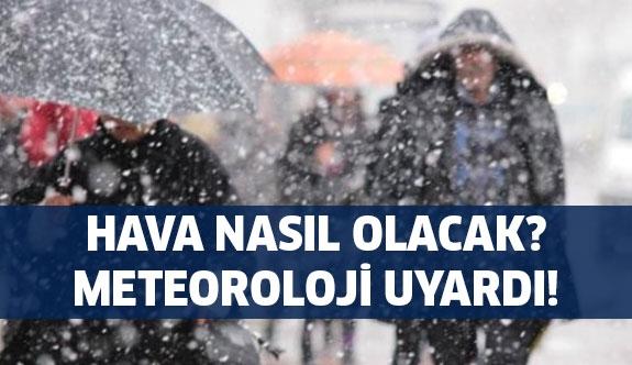 Kar İstanbul'a geliyor...