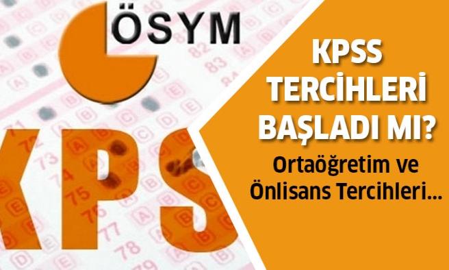 KPSS Tercihleri ne zaman başlıyor? İşte cevabı...