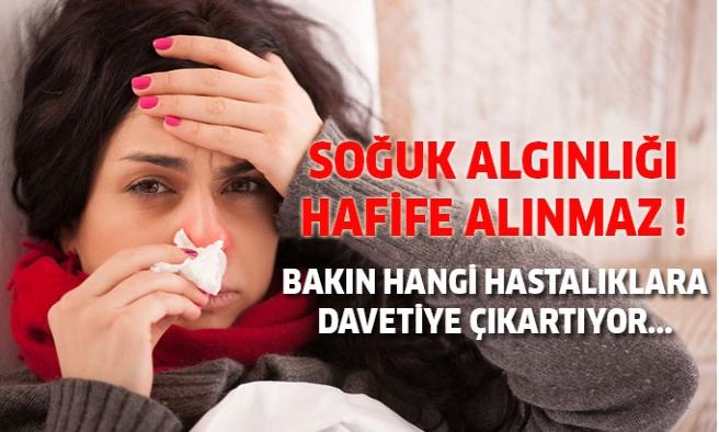 Soğuk algınlığını hafife almayın!