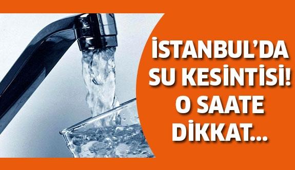 Su kesintisi 24 saat su yok!