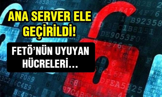 Ana server ele geçirildi