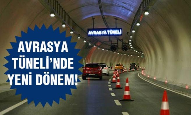 Avrasya Tüneli bugünden itibaren...