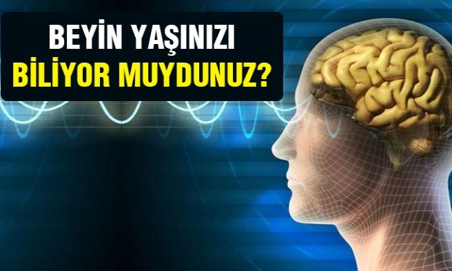 Beyin yaşınızı öğrenin!