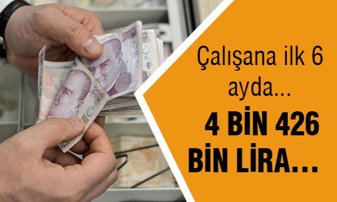 Çalışana 4 bin 426 lira tazminat!