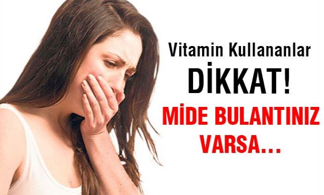 D Vitamini Fazlalığı Hayatınızı Bitirebilir