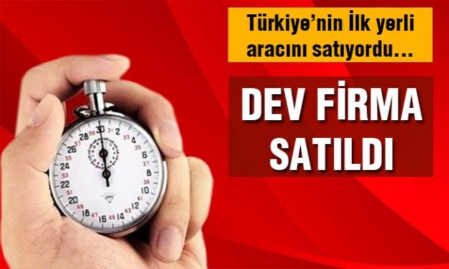 Dev Türk Firması Hintlilere Satıldı