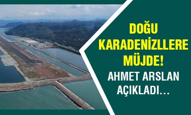 Doğu Karadenizlililere müjde!