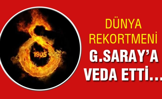 G.Saray dünya rekortmeninden kurtuldu...