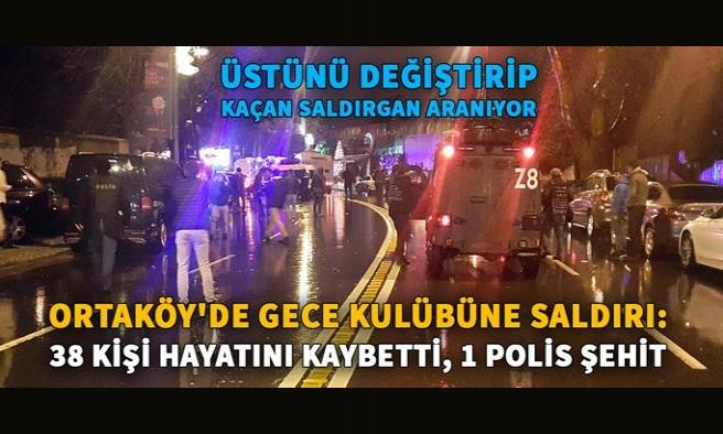 Ortaköy'de Reina gece kulübüne terör saldırısı