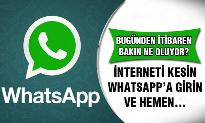 Whatsaap'ta Yeni Özellik...