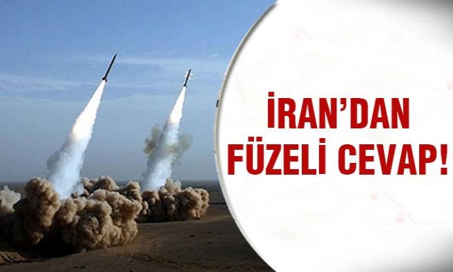 ABD Yaptırımlarına İran'dan Füzeli Cevap!