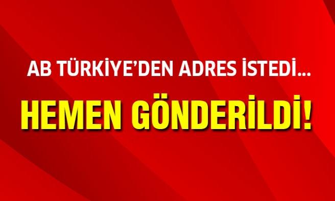 ABD,Türkiye'den O Bilgileri İstedi!