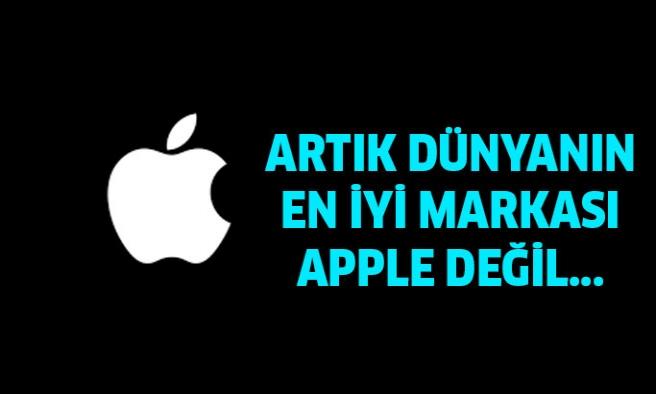 Apple Artık Dünyanın En Değerli Markası Değil !