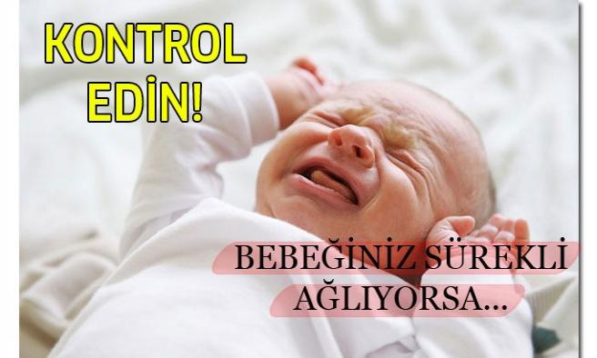 Bebeğiniz sürekli ağlıyorsa ayaklarını kontrol edin!