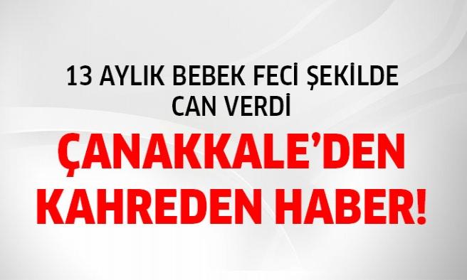 Çanakkale'de Deprem !