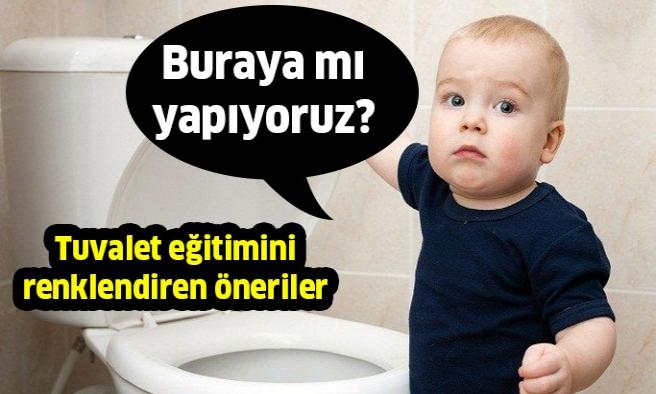 Çocuklarınız İçin Tuvalet Eğitimini Renklendirin