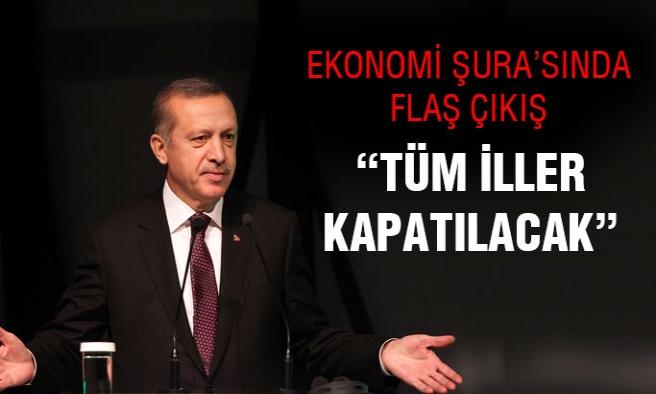 Cumhurbaşkanı Erdoğan:İşsizliği Mart'a Kadar Engelleyeceğiz!