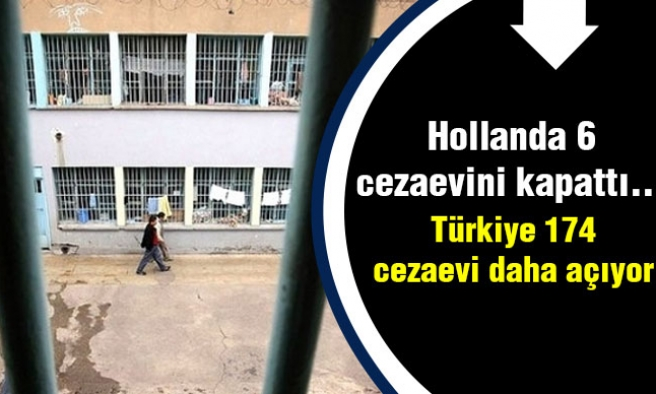 Hollanda 6 Cezaevini Kapattı...Türkiye 174 Tane Daha Açıyor
