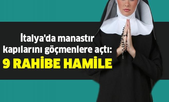 İtalya'da kadın manastırının 9 rahibesi hamile