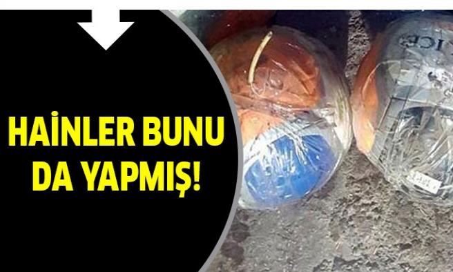 PKK'lı Teröristler Bu Kez Topların İçine...