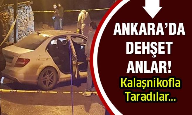 Ankara'da Dehşet! Ölüler Var...