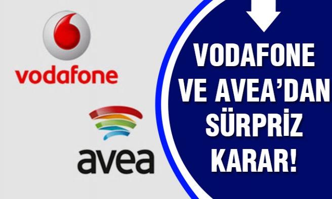 Avea ve Vodafone`dan büyük sürpriz