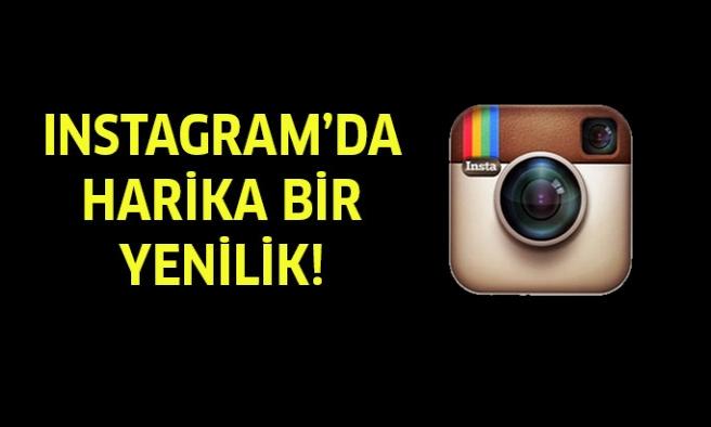 Instagram'da yeni güncelleme!