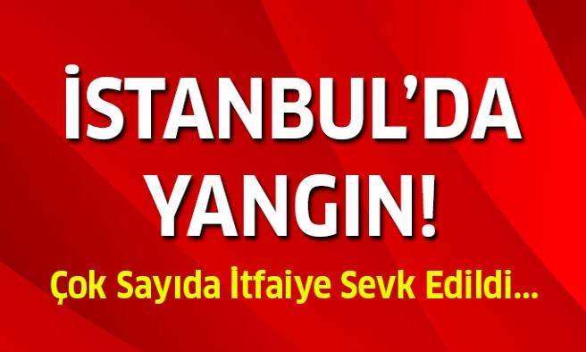 İstanbul'da yangın!
