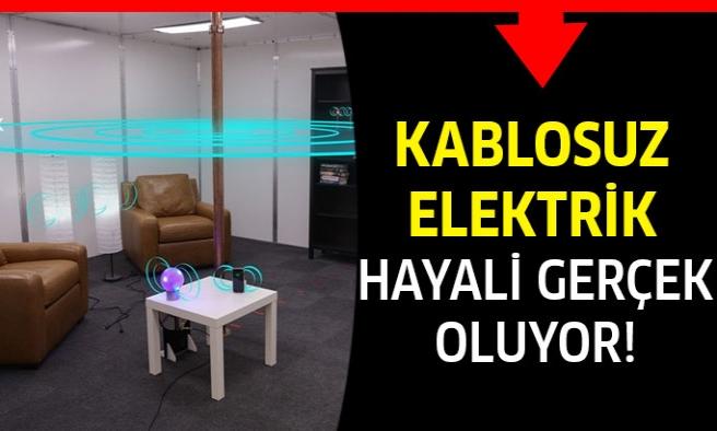 Kablosuz Elektrik Hayalini Gerçeğe Dönüştürecek Oda!
