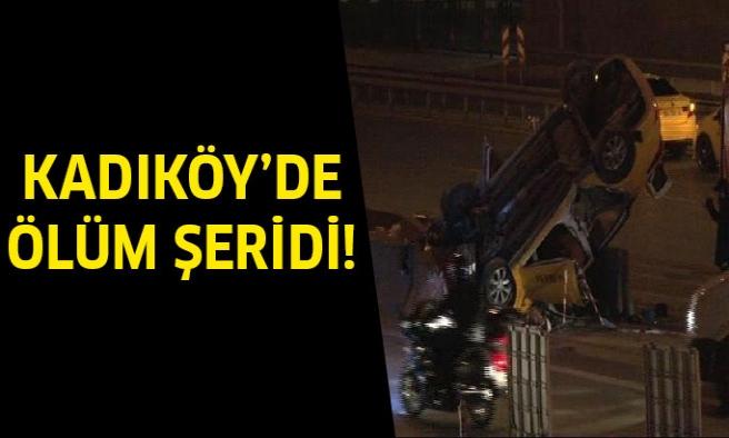 Kadıköy'de ölüm şeridi!