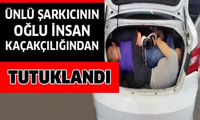 Ünlü şarkıcının oğlu tutuklandı.