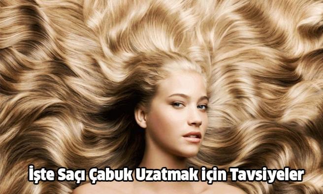İşte Saçı Çabuk Uzatmak için Tavsiyeler!