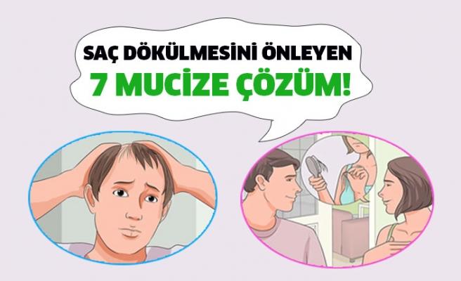 Saç dökülmesini önleyen 7 mucize çözüm!