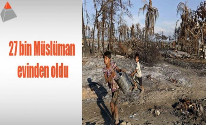 27 bin Müslüman evinden oldu