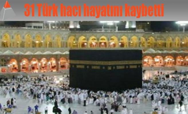 31 Türk hacı hayatını kaybetti