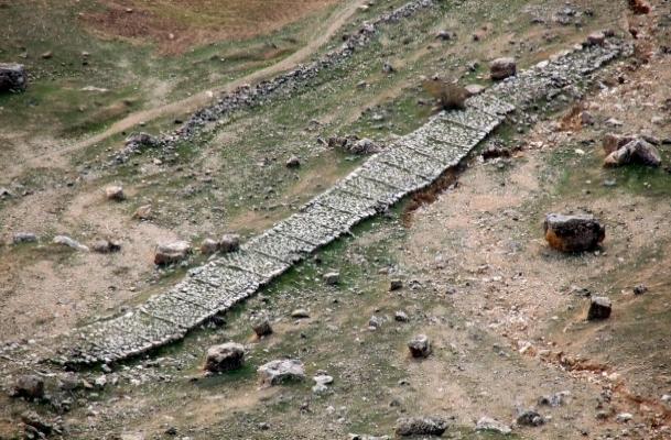 3500 yıllık yol turizme kazandırılacak