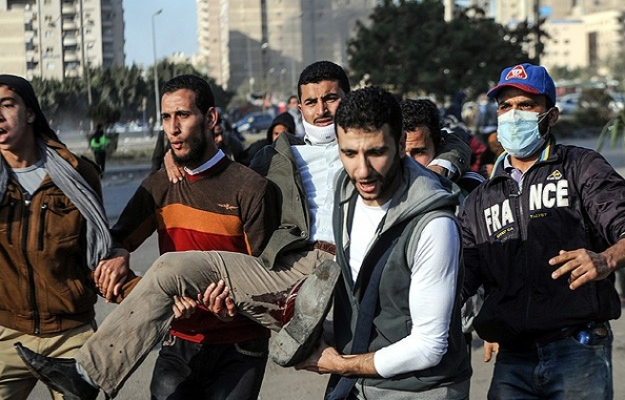 Mısır'da 18 gün sürecek gösterilerde kan aktı