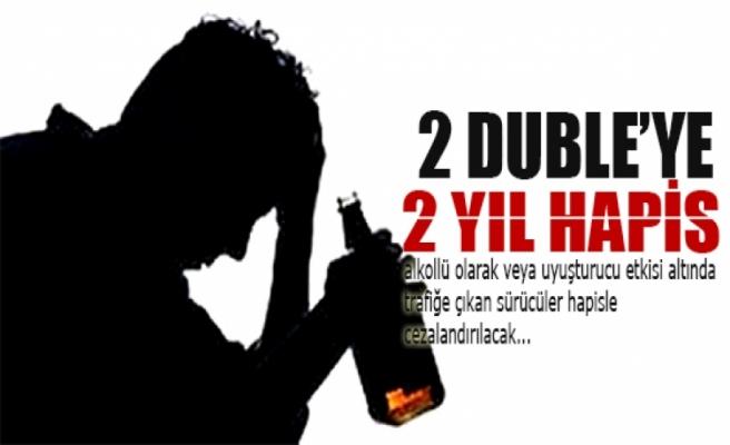 Alkollü sürücüye hapis cezası uygulanacak!