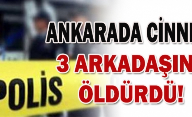 Ankarada cinnet!