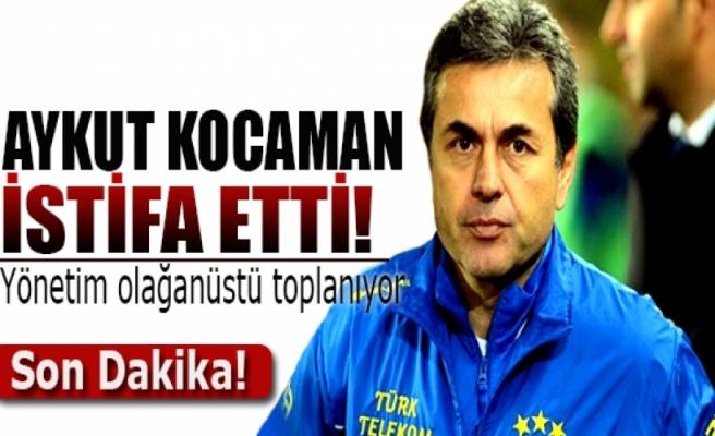 Aykut Kocaman istifa etti! Yönetim olağanüstü toplanıyor