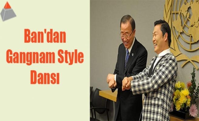 Ban'dan Gangnam Style dansı