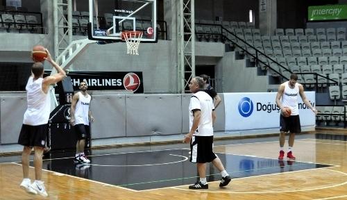 Beşiktaş Erkek Basketbol Takımı hazırlıklara başladı