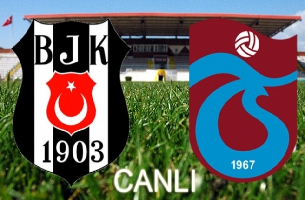Beşiktaş Trabzonspor'u ağırlıyor